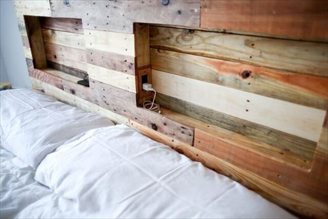 16 Wonderful DIY Pallet Headboard Ideas To Make