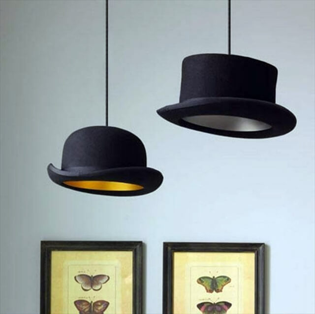hat pendant lamp design