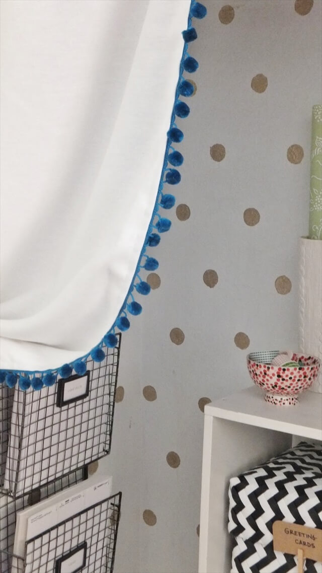 Pom-Pom Curtains