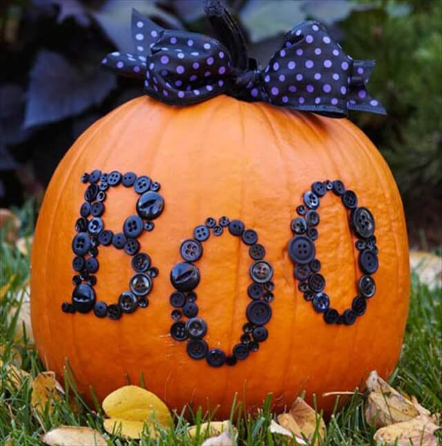 24 DIY No-Carve Pumpkin Decorating Ideas | DIY to Make