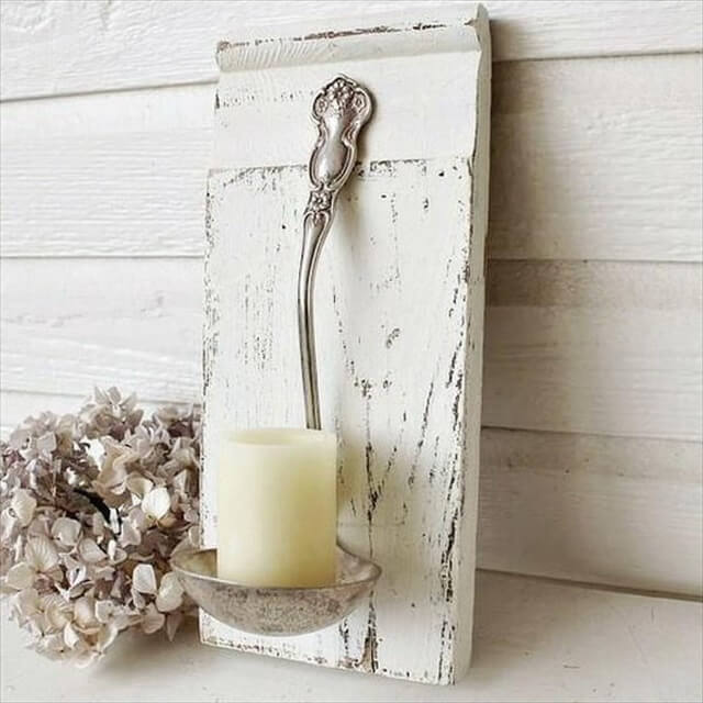 DIY Candle Light Holders