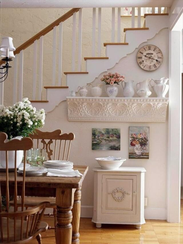 white color nice wall shelf