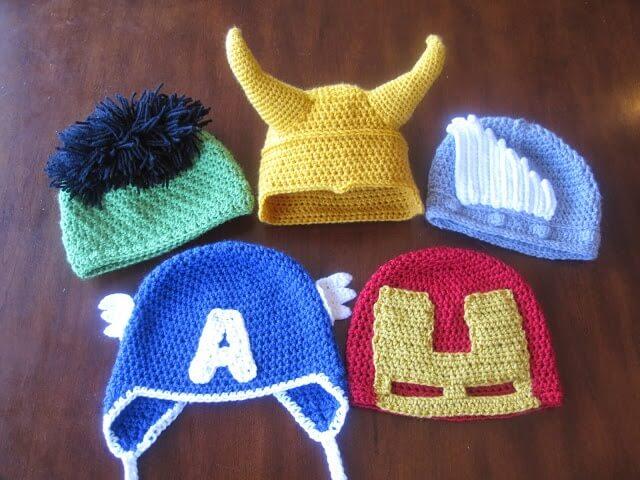 Avenger's Caps