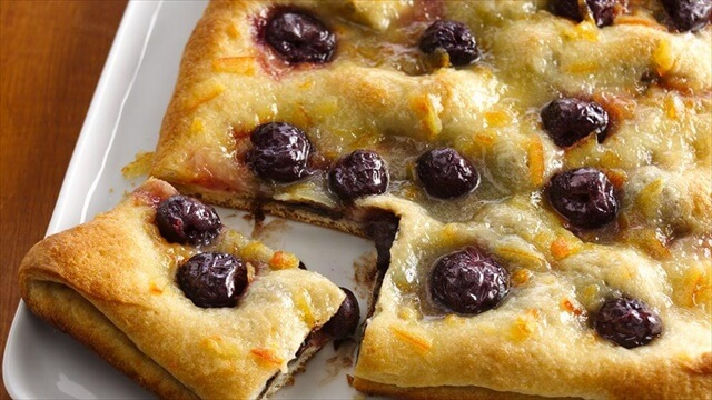 Dark Cherry Chocolate Pastry
