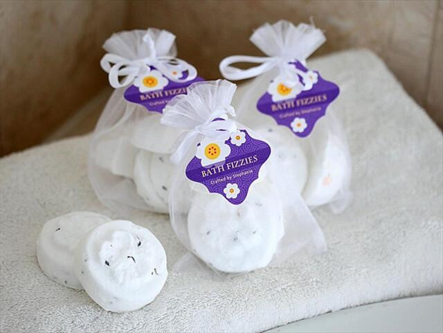 Citrus + Lavender Bath Bombs