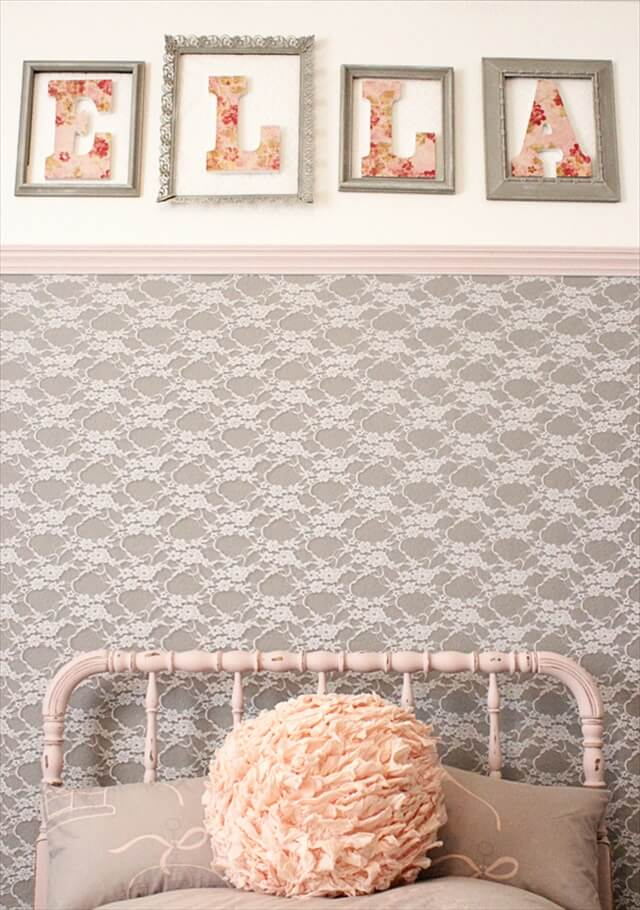 Lace Into An Accent Wall