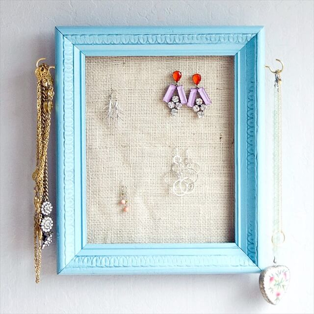 Picture Frames Into Jewelry Holders