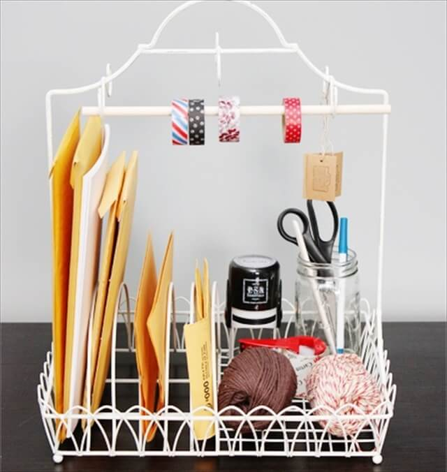 Dish Rack Into Shipping Station