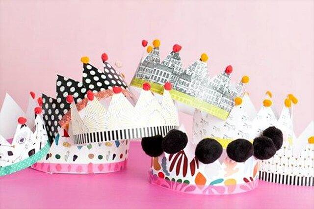 9 Diy Birthday Hats Amp Headbands Diy To Make
