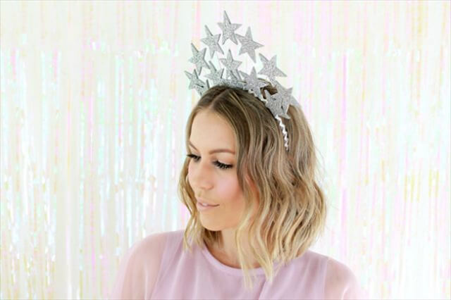 star crown headband