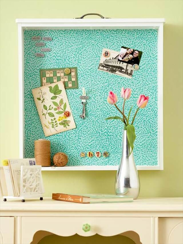 Drawer Into A Bulletin Board