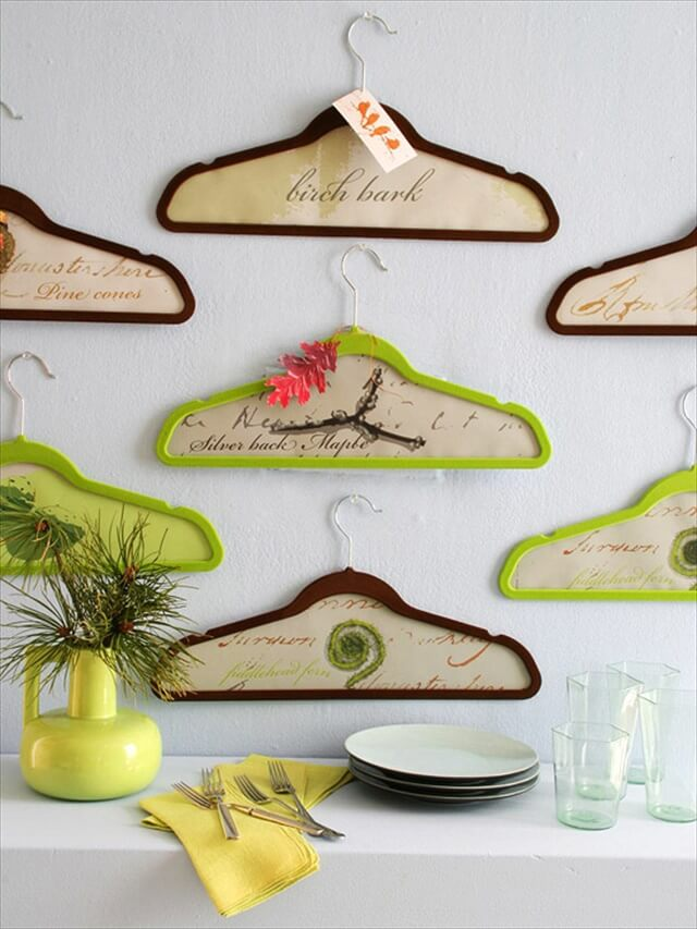 Hangers Into Wall Art