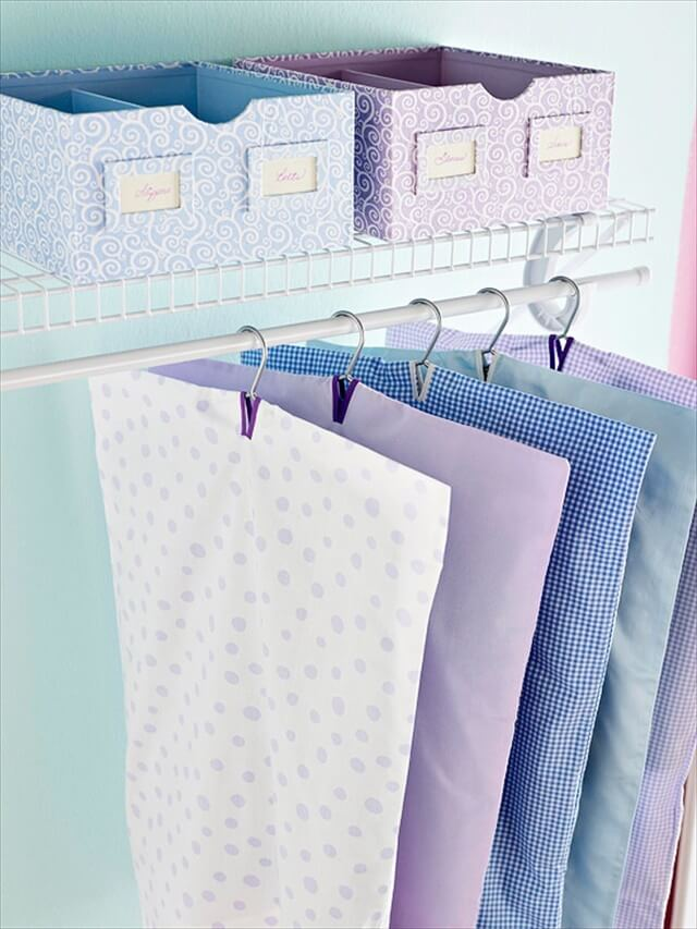 Pillow Cases Into Garment Bags