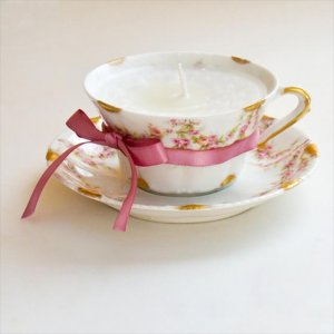 Teacups Into Candles