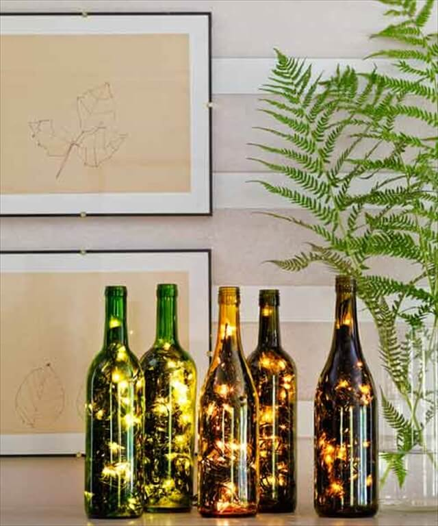 19 DIY Wine Bottle Decoration Ideas To Make