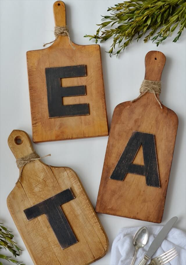 Cutting Boards Into Wall Art