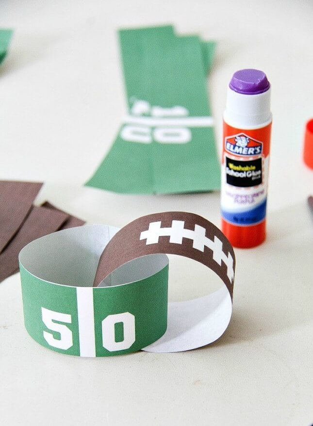 Printable Paper Chain: