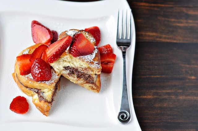 Stuffed Nutella French Toast