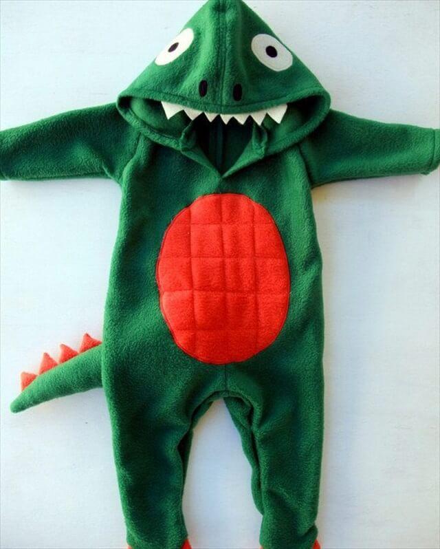 Easy Dinosaur Baby Onesie