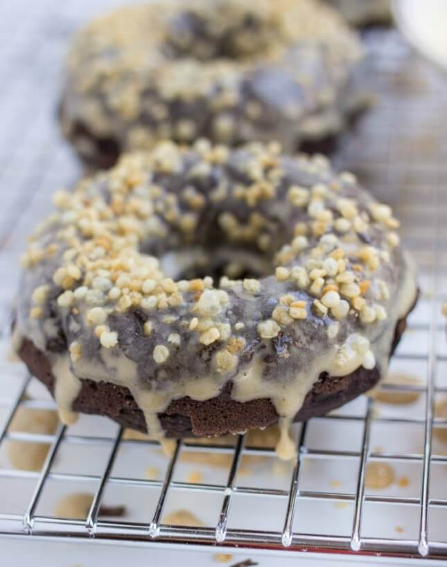Baked Gluten-Free Chocolate Donuts: