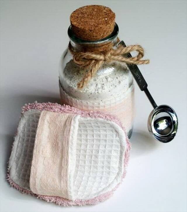 Spa Scrubbie and Tropical Bath Tea Soak