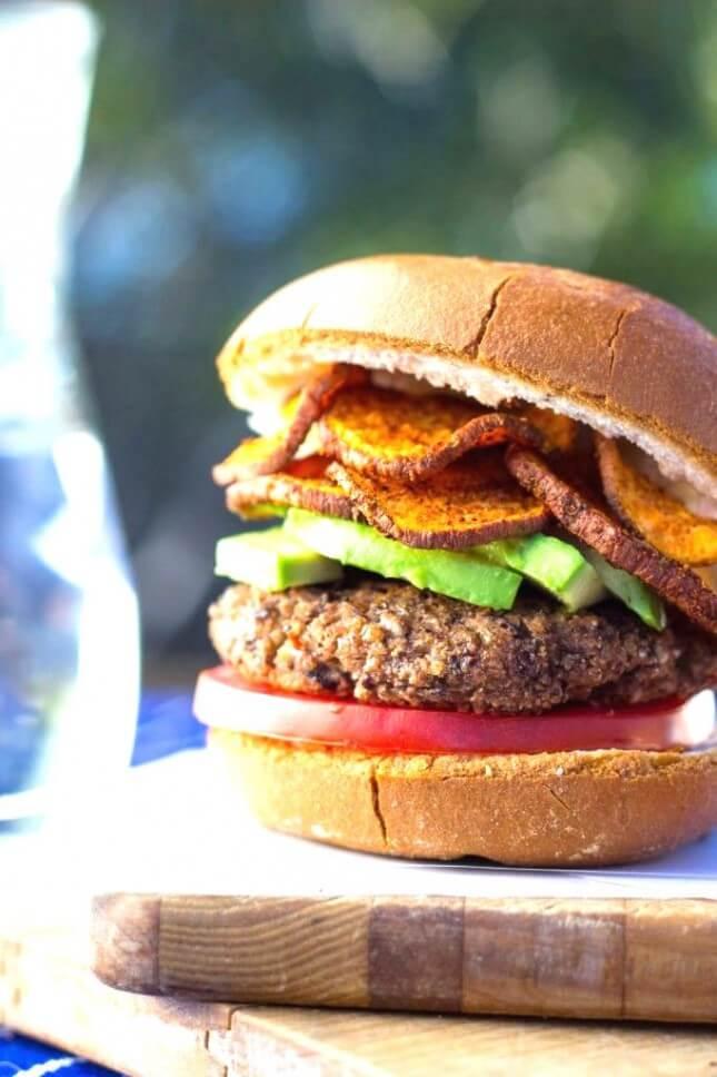 Black Bean Burgers: