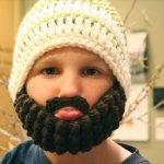 Crochet Beard Beanie