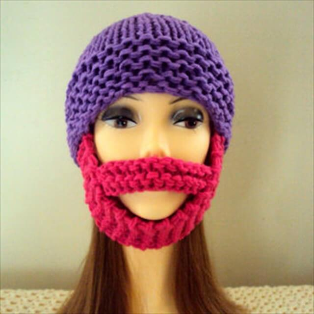 Beard Hat Beanie Ski Mask Face Mask Winter Hat Snowboard Hat
