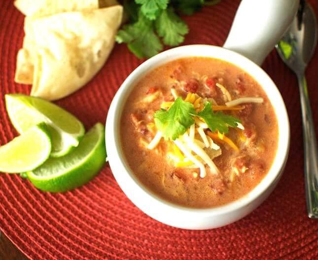 Chicken Tortilla Soup: