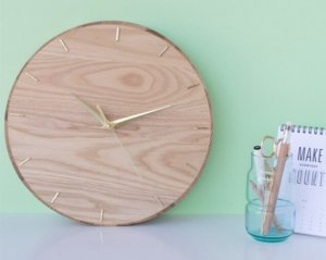 Classic Gold Clock: