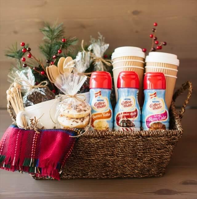 Coffee Holiday Gift Basket
