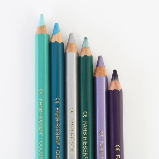 Karen Kimmel Studios Colorful Pencils