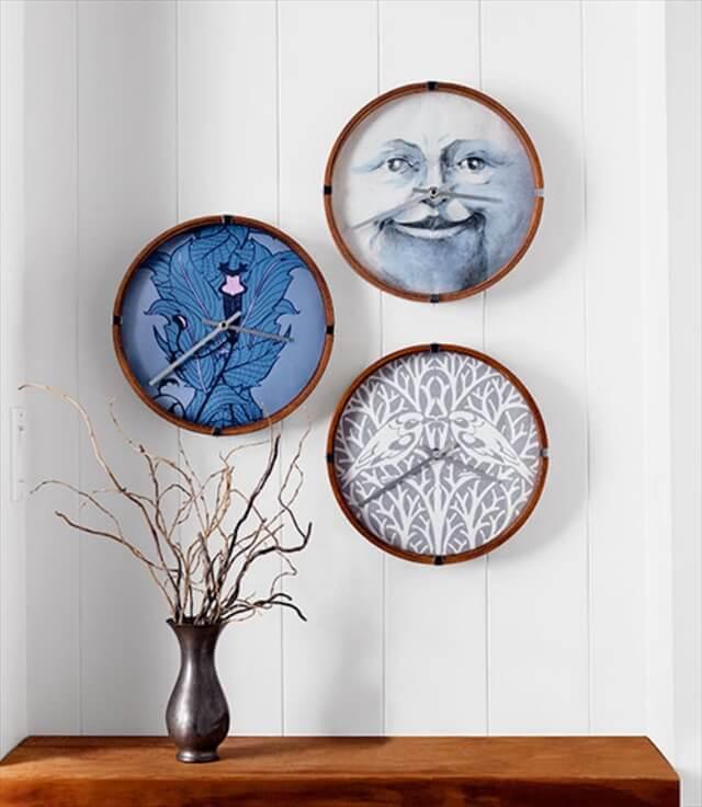 Paper Face Clock: