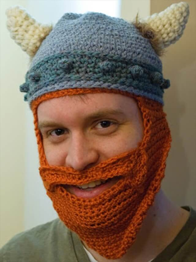 Crochet Viking Helmet