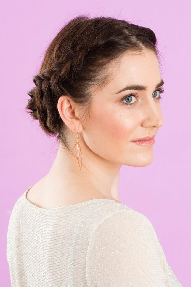 Romantic Crown Bun: