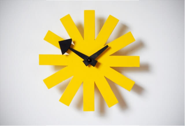 Asterisk Clock:
