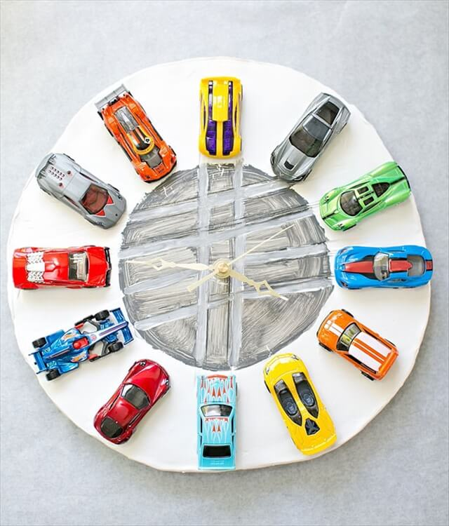 Car Clay Clock