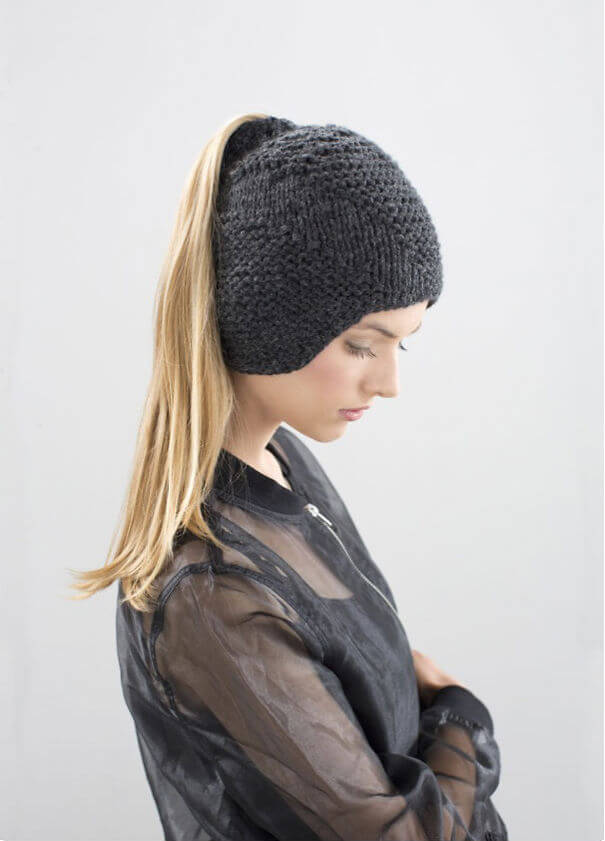 Hat With Pony Tail Slit
