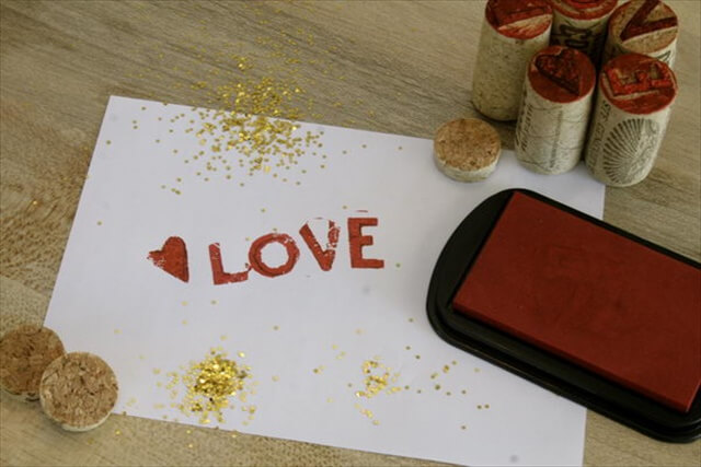 DIY Wine Cork Stamps