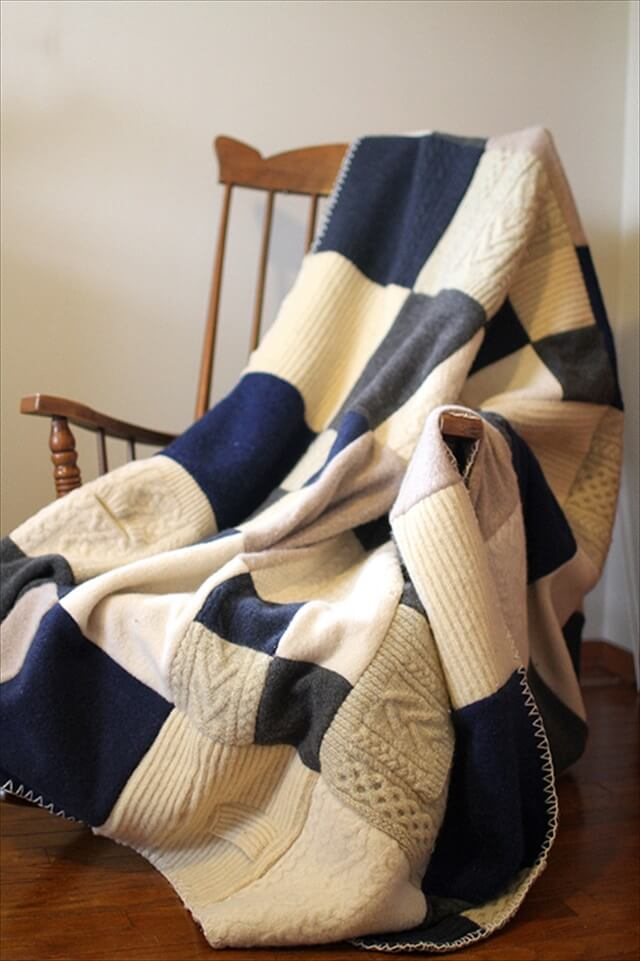 Felted Blanket Quilt