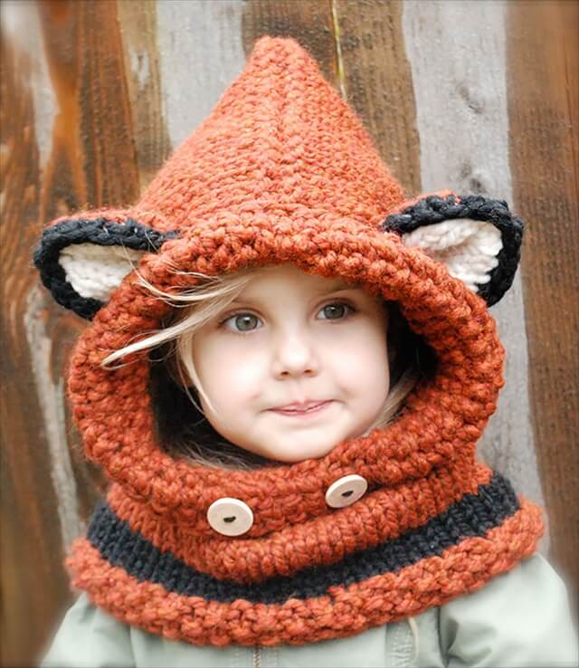 Winter Fox Cowl