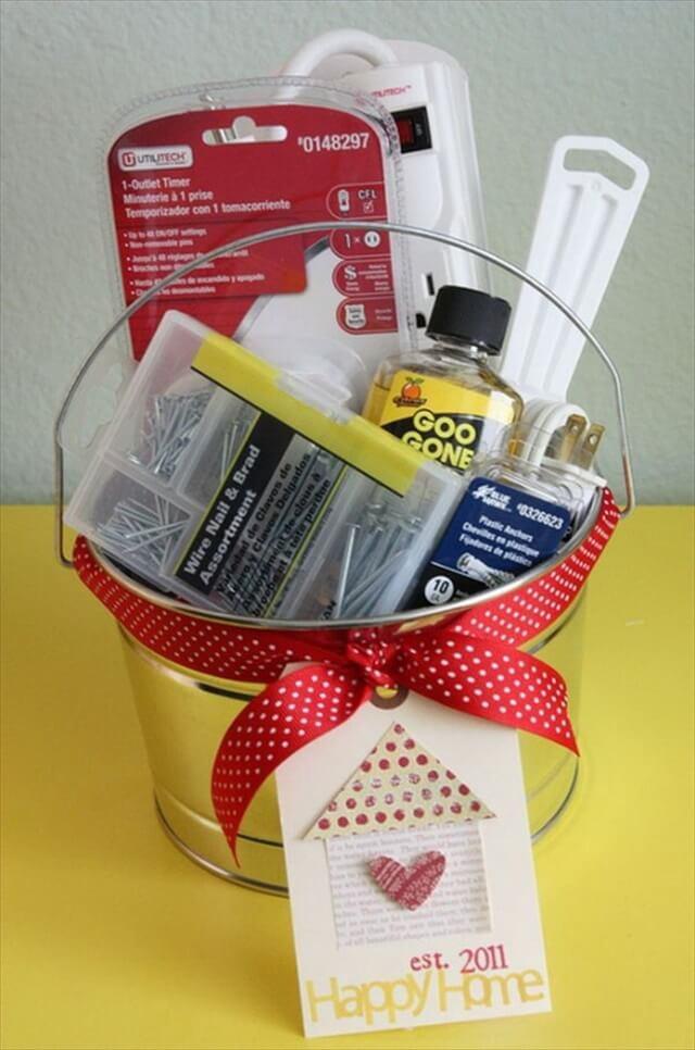 New Home Owner Gift Basket