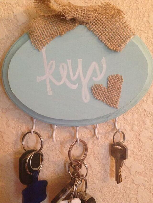 Shabby Chic Handmade Key Holder