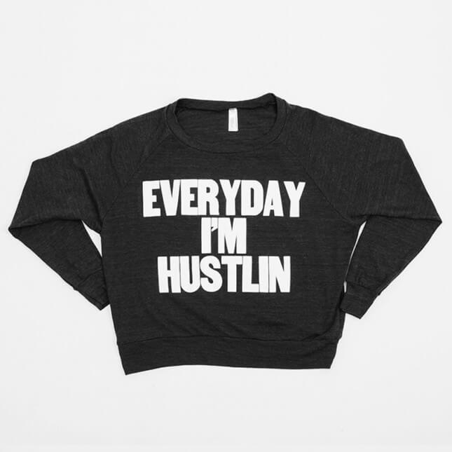 Paper Jam Press Everyday I'm Hustlin Tee