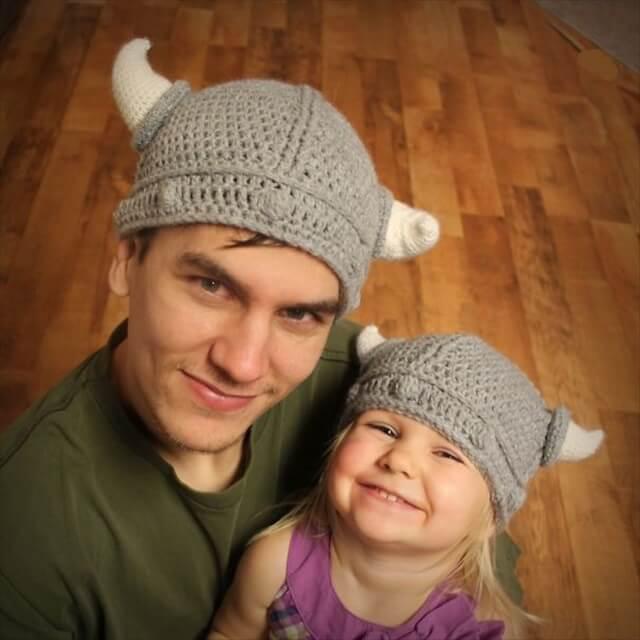 Lael Viking Hat