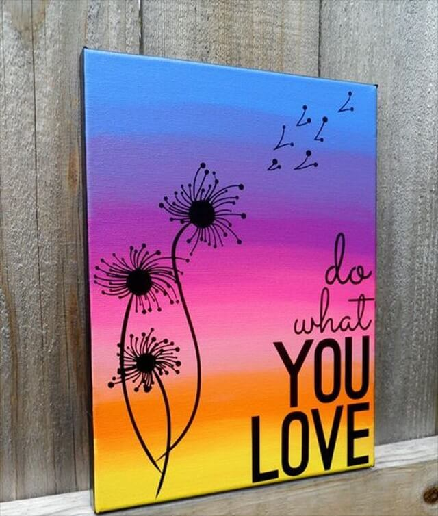 Do What You Love Canvas