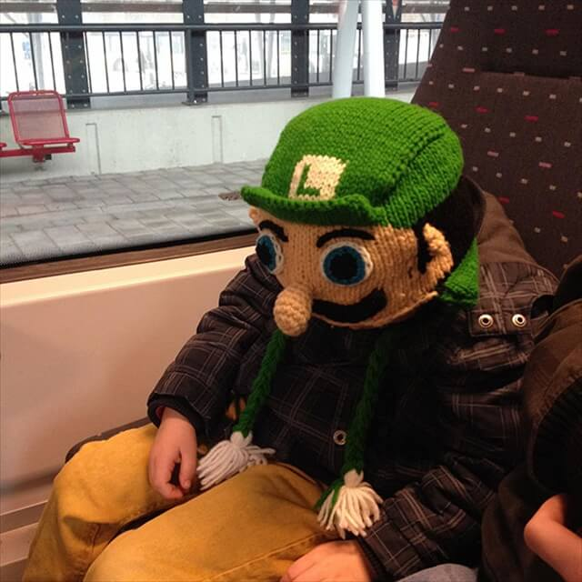 DIY Luigi Hat