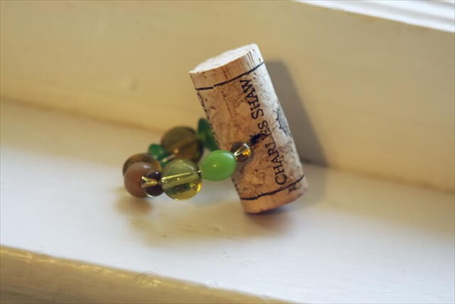 Wine Cork Napkin Ring