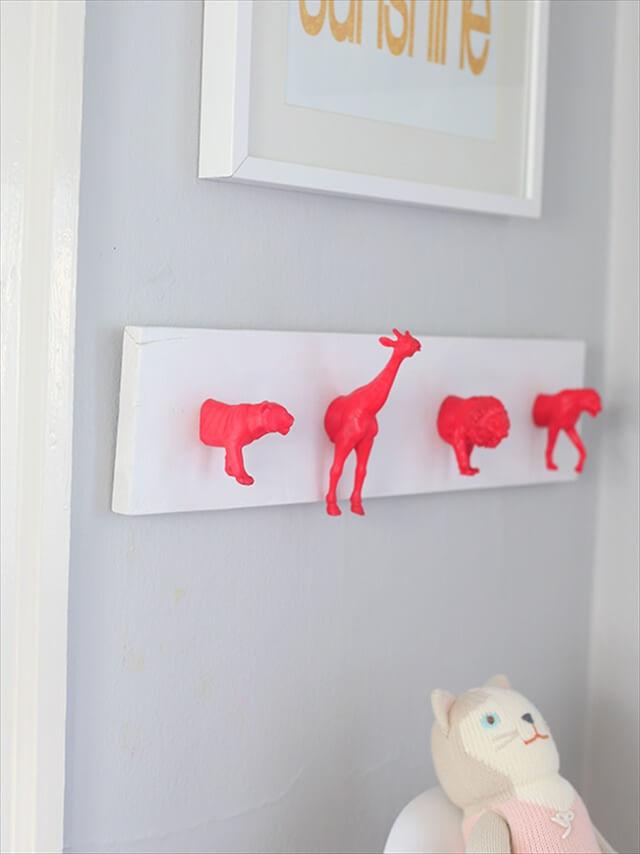 Neon Animal Hooks