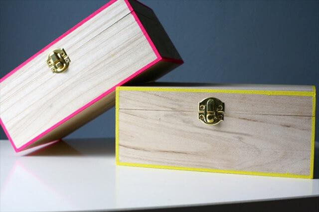 Neon-Edged Boxes